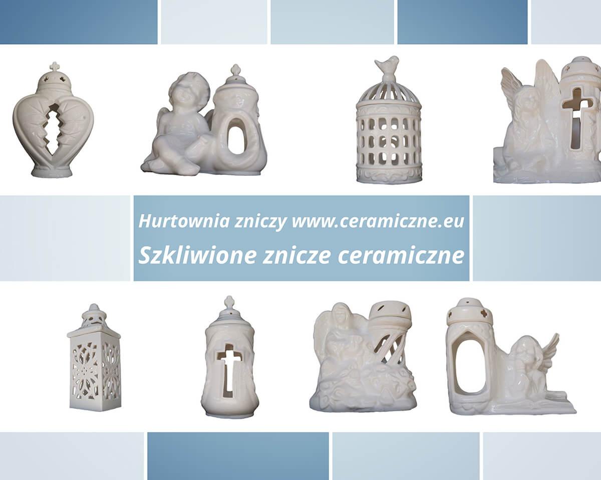 znicze ceramiczne